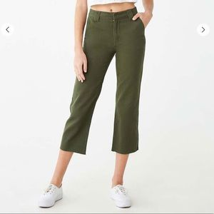 Denim Ankle Trousers - NEVER WORN
